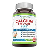 Pure Naturals Calcium Pyruvate, 1500 Mg, 120 Capsules