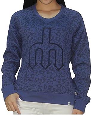 SEATTLE MARINERS MLB Womens Athletic Pullover Thermal Sweatshirt