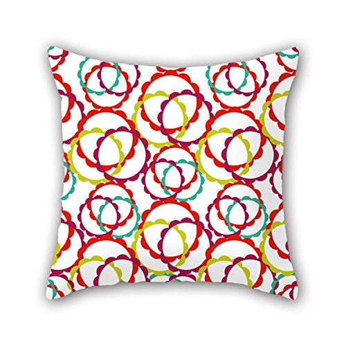 NICEPLW Circle Throw Pillow Case 18 X 18 Inches / 45 By 45 Cm Gift Or Decor For Festival,couples,indoor,valentine,dinning Room - 2 Sides (Pond Filter Urn compare prices)