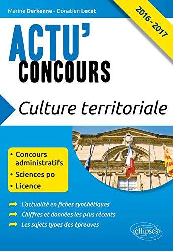 Culture territoriale 2016 2017 concours administratifs for Livre culture cannabis interieur pdf