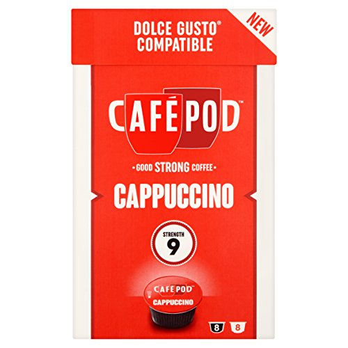 caf pod 16 americano dolce gusto compatible capsules. Black Bedroom Furniture Sets. Home Design Ideas