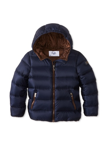 Il Gufo Kid's Hooded Puffer Jacket