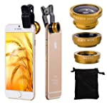XCSOURCE 3in1 Fish Eye + Wide Angle M...
