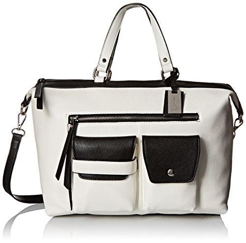 Nine West Pop Pocket Satchel Top Handle Bag