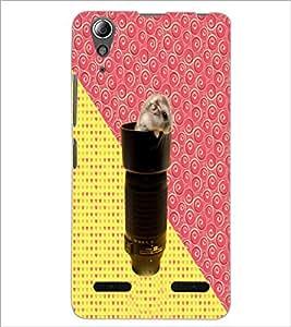 PrintDhaba Abstract Design D-5844 Back Case Cover for LENOVO A6000 (Multi-Coloured)