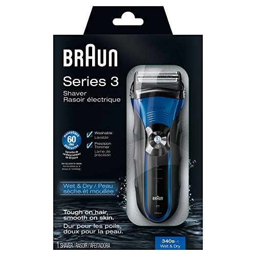 BRAUN 博朗 3 Series 新3系 340S-4 干湿两用 电动剃须刀 $39.95+$4.18直邮中国(约¥290)图片