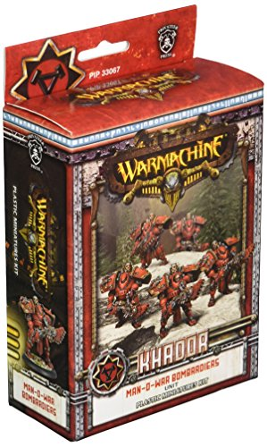 Privateer Press - Warmachine - Khador Man-O-War Bombardiers (Plastic) Model Kit (Big O Model Kit compare prices)