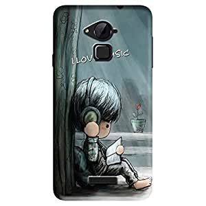 EpicShell Back Cover For Coolpad Note 3