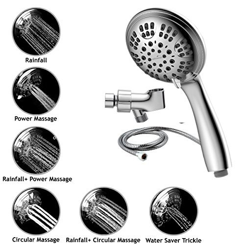 List Of Best Handheld Showerheads Based On 2000 Reviewers: