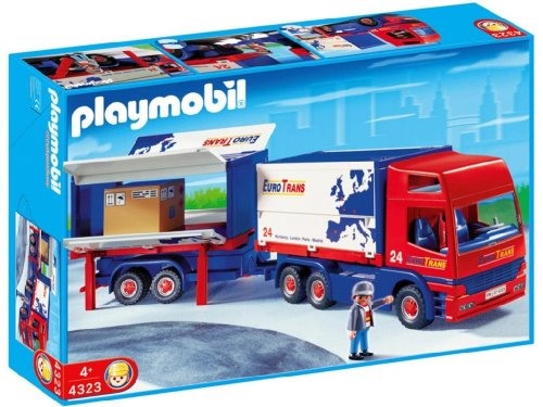 Playmobil - 4323 Truck and Trailer