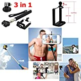 Funnykit 46-in-1 Accessories Kit for Gopro Hero 4/3/2/1