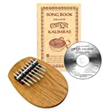 8-note Board Piano Kalimba Set with Songbook and CD ~ Catania Folk Instruments