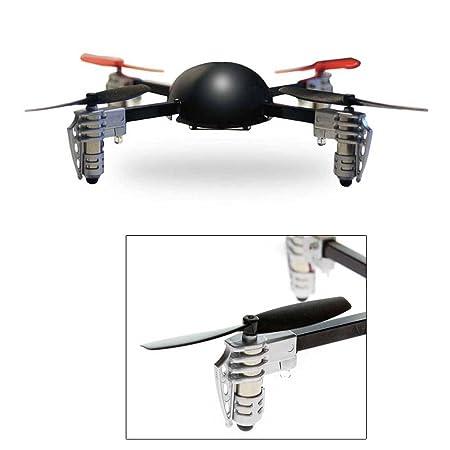Extreme Fliers- Micro Drone volant quadricoptère radio commandé pour l'intérieur et l'extérieur - Noir