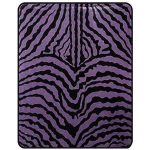 Amazon.com - Zebra Stripe Medium Weight 5lbs Polyester Mink Blanket ... Zebra Weight