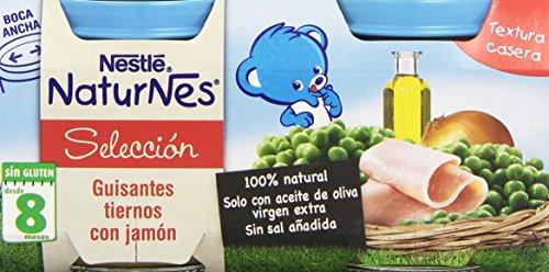 nestle-naturnes-guisantes-tiernos-con-jamon-paquete-de-2-x-200-g-total-400-g