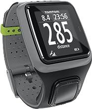 TomTom Runner - Reloj con GPS y pulsómetro, gris