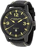 Stuhrling Original Men's 129XL.335565 Sportsmans Tuskegee Warhawk Automatic Date Black Watch