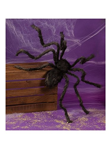 Fun World Posable Hairy Spider Assorted Colors 50