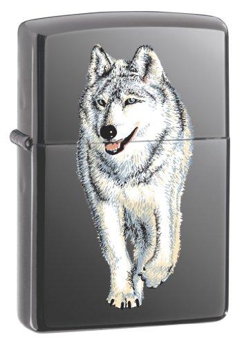 Zippo Wolf Black Ice Pocket Lighter