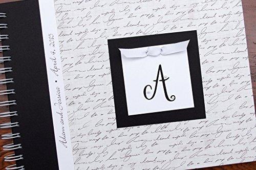 Handmade anniversary journal personalized wedding gift