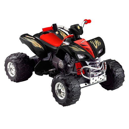 Fisher-Price Hot Wheels KFX Battery Powered ATV Riding Toy