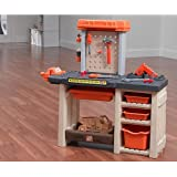 The Home Depot Handyman Workbench Allows Boys and Girls to Learn and Develop Motor Skills As They Use Their Tool Workshop to Pretend to Fix Up the House. This Handy Work Playset Features a Toy Drill, Saw and Hammer for Your Children to Play Shop.
