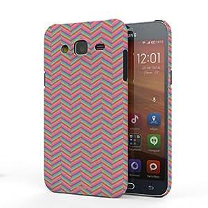 Koveru Back Cover Case for Samsung Galaxy J5 - Sugar Zigzag