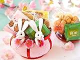 ひなバスケット ひな祭り の お菓子 ギフト