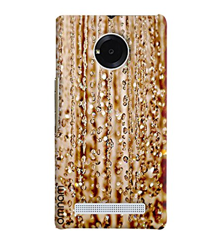 Omnam Small Water Drops Pattern Printed Designer Back Cover Case For Micromax Yuphoria