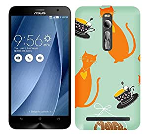 WOW Printed Designer Mobile Case Back Cover For Asus Zenfone 2 ZE550ML