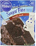Pillsbury Moist Supreme Sugar Free Devil's Food Cake Mix, 16.0100-Ounce (Pack of 6)