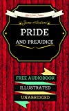 Image of Pride and Prejudice: By Jane Austen & Illustrated (An Audiobook Free!)