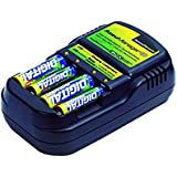 Accupower Accu-manager 2010 AA-AAA Battery Charger Charges Nimh, Nicd, or Ram Batteries