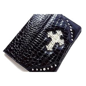 Ipad 2 Case Cover Designer Fashioned /  Black Patent Leather