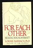 img - for For Each Other: Sharing Sexual Intimacy book / textbook / text book