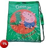 Peppa Pig - George Pig borsa di nuoto, borsa sportiva