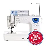 Janome Memory Craft 6300 Professional Sewing & Quilting Machine with accessories