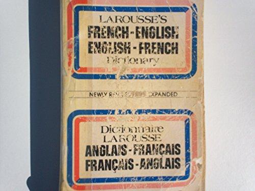 French-English, English-French Dictionary-Dictionnaire Larousse Français-Anglais, Anglais-Français