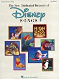 The Illustrated Treasury Of Disney Songs. Partitions pour Piano, Chant et Guitare(Symboles d'Accords)...
