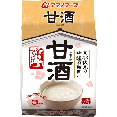 アマノフーズ 甘酒 12g×3袋入