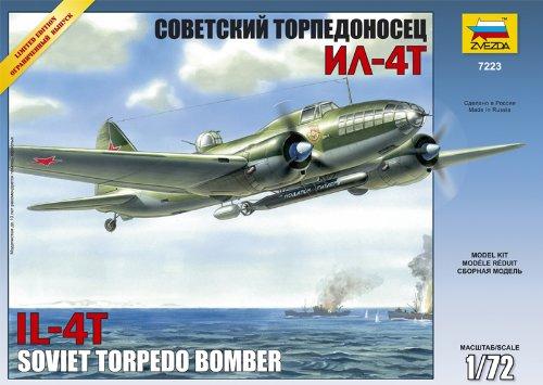 Zvezda - Z7223 - Maquette - Illiouchine Il-4 Torpilleur - Echelle 1:72