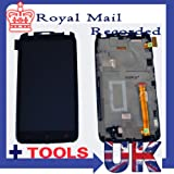 HTC one X + x plus S728e assembly lcd screen+touch panel digitizer + Middle chassis /frame Sharp