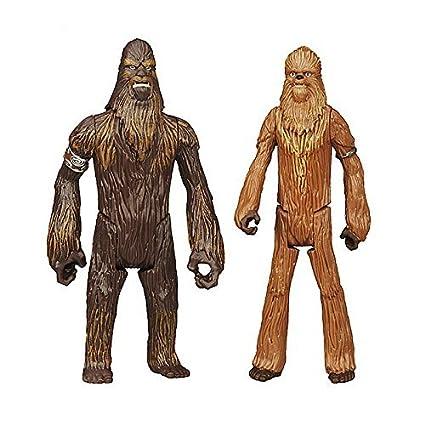 Disney Officiel Star Wars Rebels Mission Séries Figurine D'action Wullffwarro & A Wookie Guerrier Double Paquet