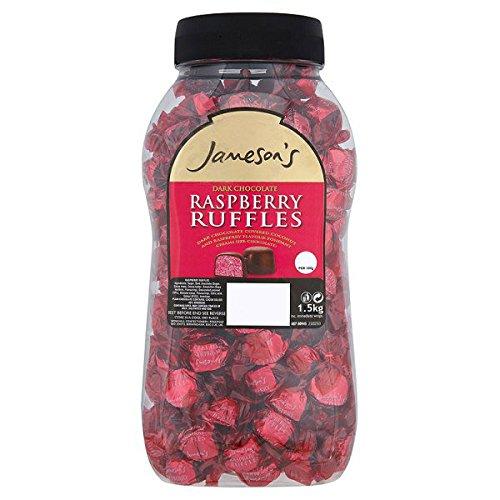 jamesons-ruffle-raspberry-bocal-cremes-saveur-framboise-noix-de-coco-fondant-couvert-de-chocolat-noi
