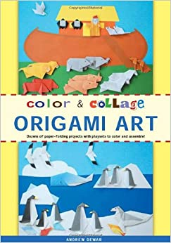 color amp collage origami art kit dozens of paperfolding