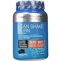 GNC Total Lean Advanced Lean Shake Burn 1.67lbs - Chocolate Fudge
