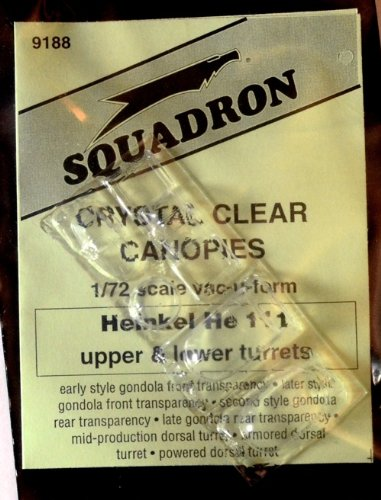 Squadron Products He 111H Upper/Lower Turrets - 1