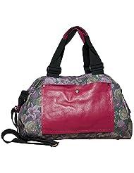 Floral Delight Pink Tote Bag