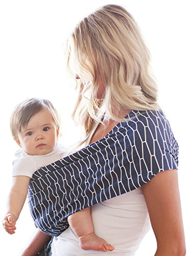 Hotslings Adjustable Pouch Inset Blue Baby Carrier Sling (Regular)