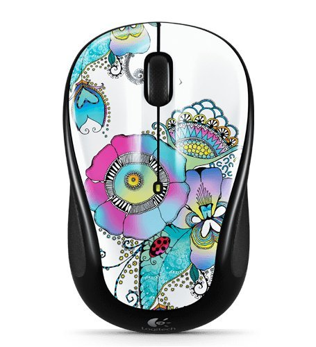 Logitech M325 Wireless Mouse With Designed-For-Web Scrolling - Lady On The Lily Color: Lady On The Lily Pc, Computer, Hardware